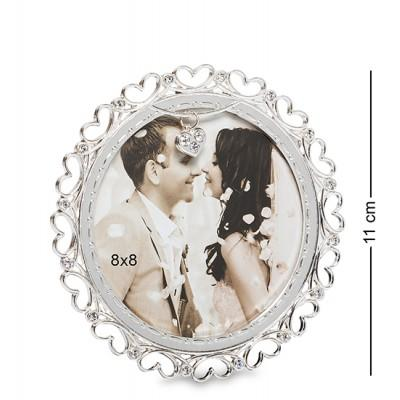 """Рамка для фото """"Сердечная история"""" 8х8 см., Bellezza Casa, Италия"""