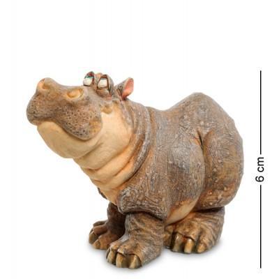 "Фигура ""Бегемот"" 6 см., полистоун Sealmark, США"