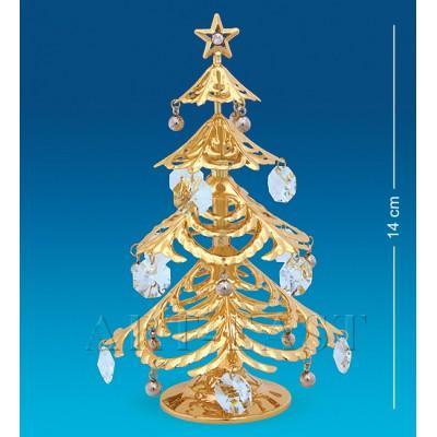 "Фигурка ""Новогодняя елка"" 9,5x9,5x14 см., Crystal Temptations, США"