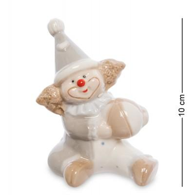 "Фигурка ""Клоун"", 7,5х5,5х10 см., фарфор"