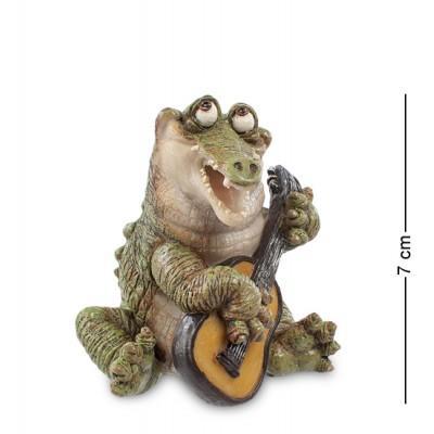 """Фигурка """"Крокодил"""" 7,5x6x7 см., полистоун Sealmark, США"""