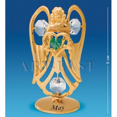 "Фигурка ""Ангел"" - май 5,5x4x9 см., Crystal Temptations, США"