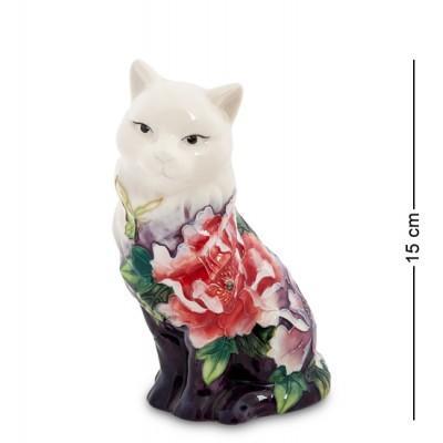 """Фигурка """"Кошка"""" 8x9x15 см., фарфор Pavone, Италия"""
