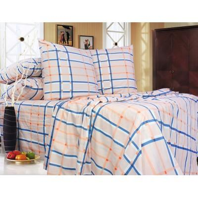 Комплект постельного белья Двуспальный, Ранфорс (2-х сп.ЕР0087)