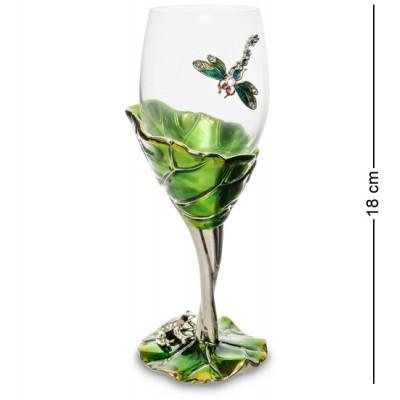 """Бокал для вина """"Лотус"""" 8x7x18 см., Гонконг"""