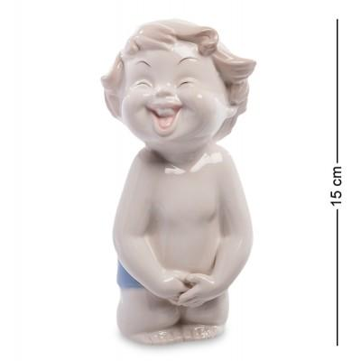"""Фигурка """"Мальчик"""" 8x7,5x15 см., фарфор Pavone, Италия"""