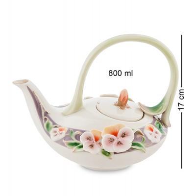 """Заварочный чайник """"Виола"""" 800 мл., фарфор Pavone, Италия"""