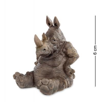 """Фигурка """"Носорог"""" 5x4,5x6 см., полистоун Warren Stratford Канада"""