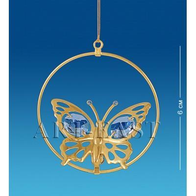 """Фигурка подвесная """"Бабочка"""" 6 см., Crystal Temptations, США"""