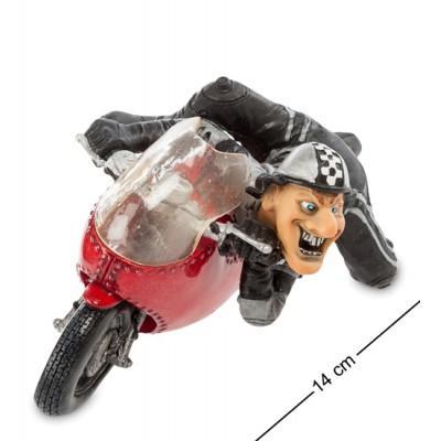 Статуэтка мотоцикл 14 см., полистоун Warren Stratford, Канада