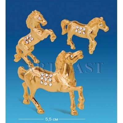 "Набор фигурок ""Семейка лошадей"" 5,5x2x5 см., Crystal Temptations, США"