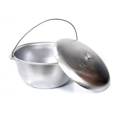 Казан 10 л, походный алюминиевый Силумин