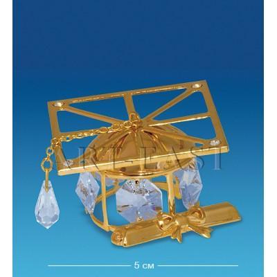 """Фигурка """"Шапка Магистра"""" 7,5x3,5x7 см., Crystal Temptations, США"""