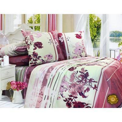 Комплект постельного белья Двуспальный, Бязь-100% хлопок (2-х сп.ЕТ0488)