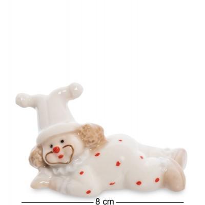 "Фигурка ""Клоун"", 8х3,5х4,5 см., фарфор"