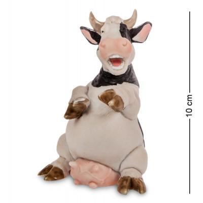 """Фигура """"Корова"""", 7,5x7x10 см., полистоун Sealmark, США"""
