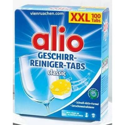 Таблетки для посудомоечных машин Alio XXL, 100 шт., Германия