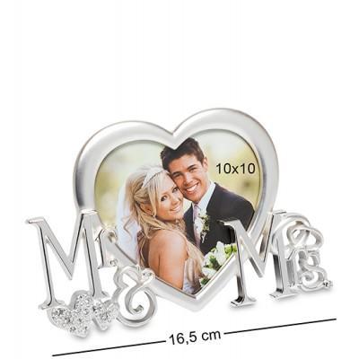 "Рамка для фото ""Мистер и Миссис"" 10х10 см., Bellezza Casa, Италия"