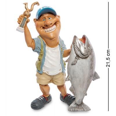 Статуэтка ''Рыбак'', 14х7х21,5 см., полистоун Warren Stratford, Канада