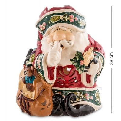 "Статуэтка-подсвечник ""Дед Мороз"" 31,5x30x38 см., Blue Sky, Италия"