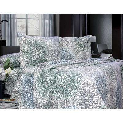 Комплект постельного белья Евро, Бязь (ЕБ0373)
