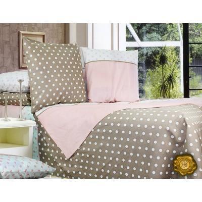 Комплект постельного белья Двуспальный, Бязь-100% хлопок (2-х сп.ЕТ0408)