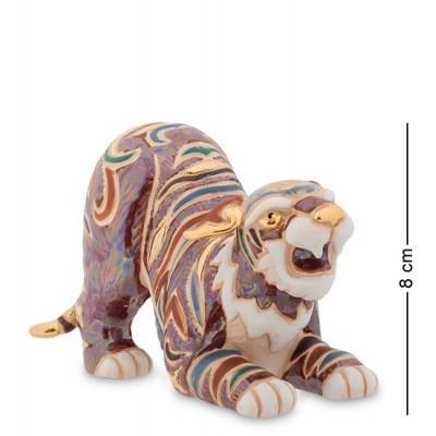 """Фигурка Символ Года """"Тигр"""" 6x12,5x8 см., фарфор Pavone, Италия"""