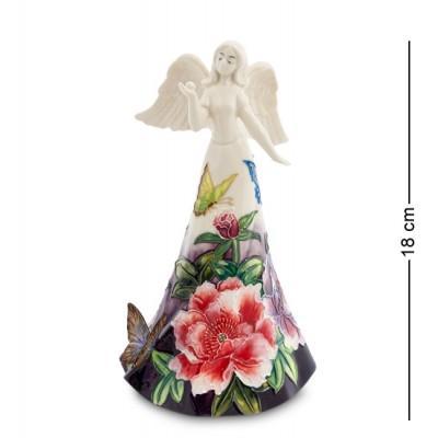 """Фигурка """"Девушка-ангел"""" 10x8,5x18 см., фарфор Pavone, Италия"""