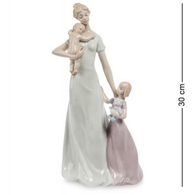 """Фигурка """"Счастье материнства"""" 16x11x30 см., фарфор Pavone, Италия"""