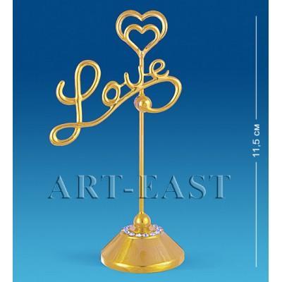 "Держатель для визиток ""Love"" 6,5x4x11,5 см., Crystal Temptations, США"