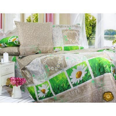 Комплект постельного белья Двуспальный, Бязь-100% хлопок (2-х сп.ЕТ0402)