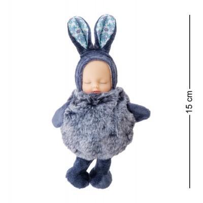 Брелок Малыш в костюме Зайчика, 15 см., PT-72-A
