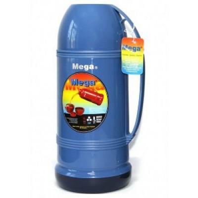 Термос Mega ET190, 1.9 л синий