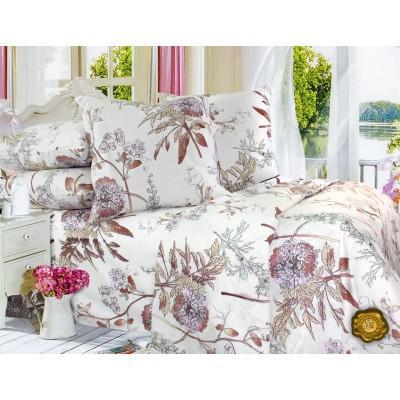 Комплект постельного белья Евро, Бязь-100% хлопок (ЕТ0262)
