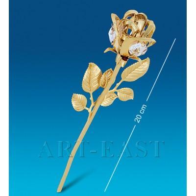 "Фигурка ""Цветок"" 6,5x4x20 см., Crystal Temptations, США"