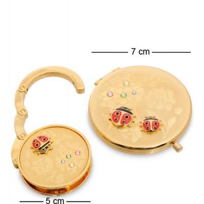 Подар. набор (зеркальце + держатель для сумочки) 7 см., Гонконг