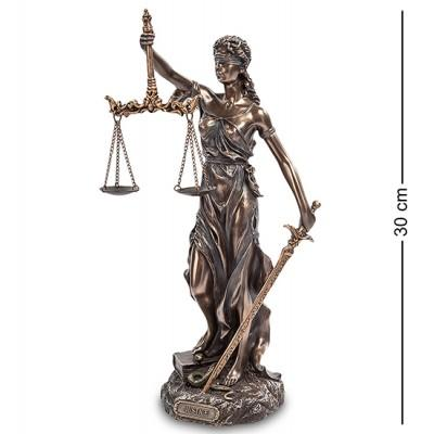 "Статуэтка ""Фемида - богиня правосудия"" 13х12х30 см., Veronese., Гонконг"