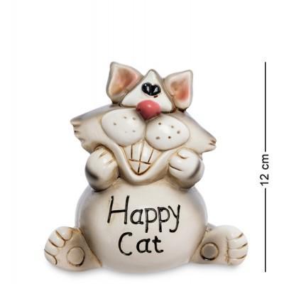 "Статуэтка-копилка ""Счастливый кот"", 12,5х8,5х12 см., полистоун"
