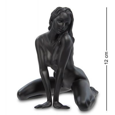 """Статуэтка """"Девушка"""", 11х9,5х12 см., полистоун Veronese, Гонконг"""