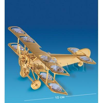 "Фигурка ""Самолет"" 10x11x5 см., Crystal Temptations, США"