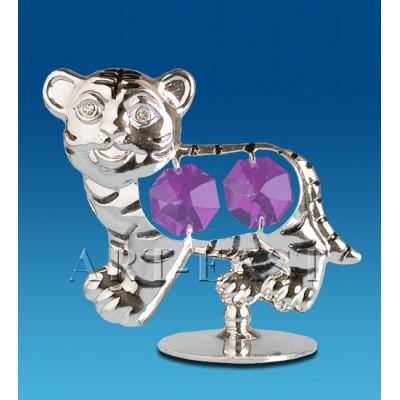 "Фигурка ""Тигр"" 6,5x3,5x6 см., Crystal Temptations, США"