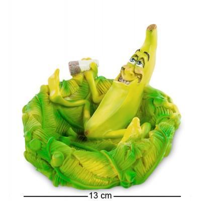 """Пепельница """"Банановый рай"""", 13x12x8 см., полистоун Warren Stratford, Канада"""
