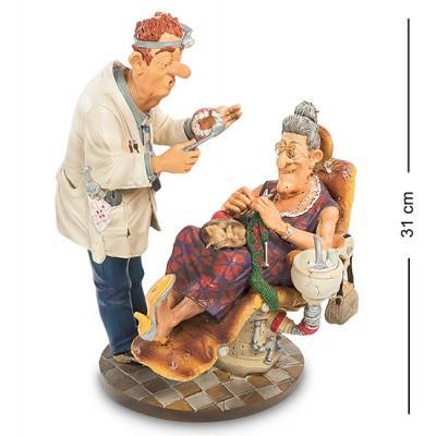 """Статуэтка """"Стоматолог"""" 26x23x31 см., полистоун Parastone, Нидерланды"""