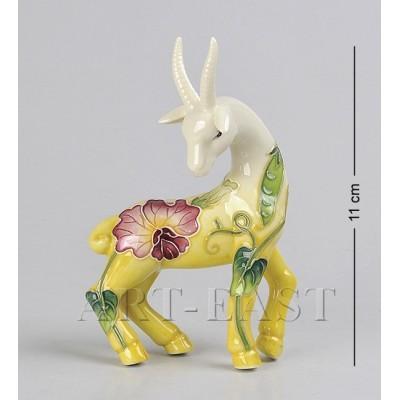 """Фигурка """"Коза"""" 11 см., фарфор Pavone, Италия"""