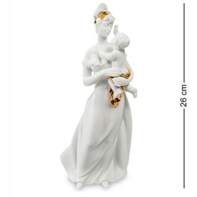 "Статуэтка ""Мать и дитя"" 11x8,5x26 см., фарфор Pavone, Италия"