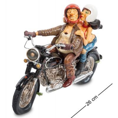 Статуэтка-Мотоцикл 26х11х19 см., полистоун Forchino, Франция