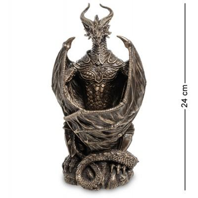 "Статуэтка с подстветкой ""Дракон"", 13х11,5х24 см., полистоун Veronese, Гонконг"