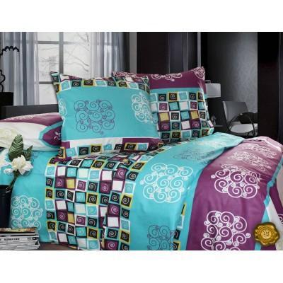 Комплект постельного белья Евро, Бязь-100% хлопок (ЕТ0249)
