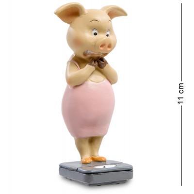 "Фигурка Свинья ""Все под контролем"", 5,5х4х11 см., полистоун"