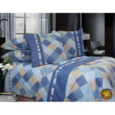Комплект постельного белья Евро, Бязь-100% хлопок (ЕТ0276)